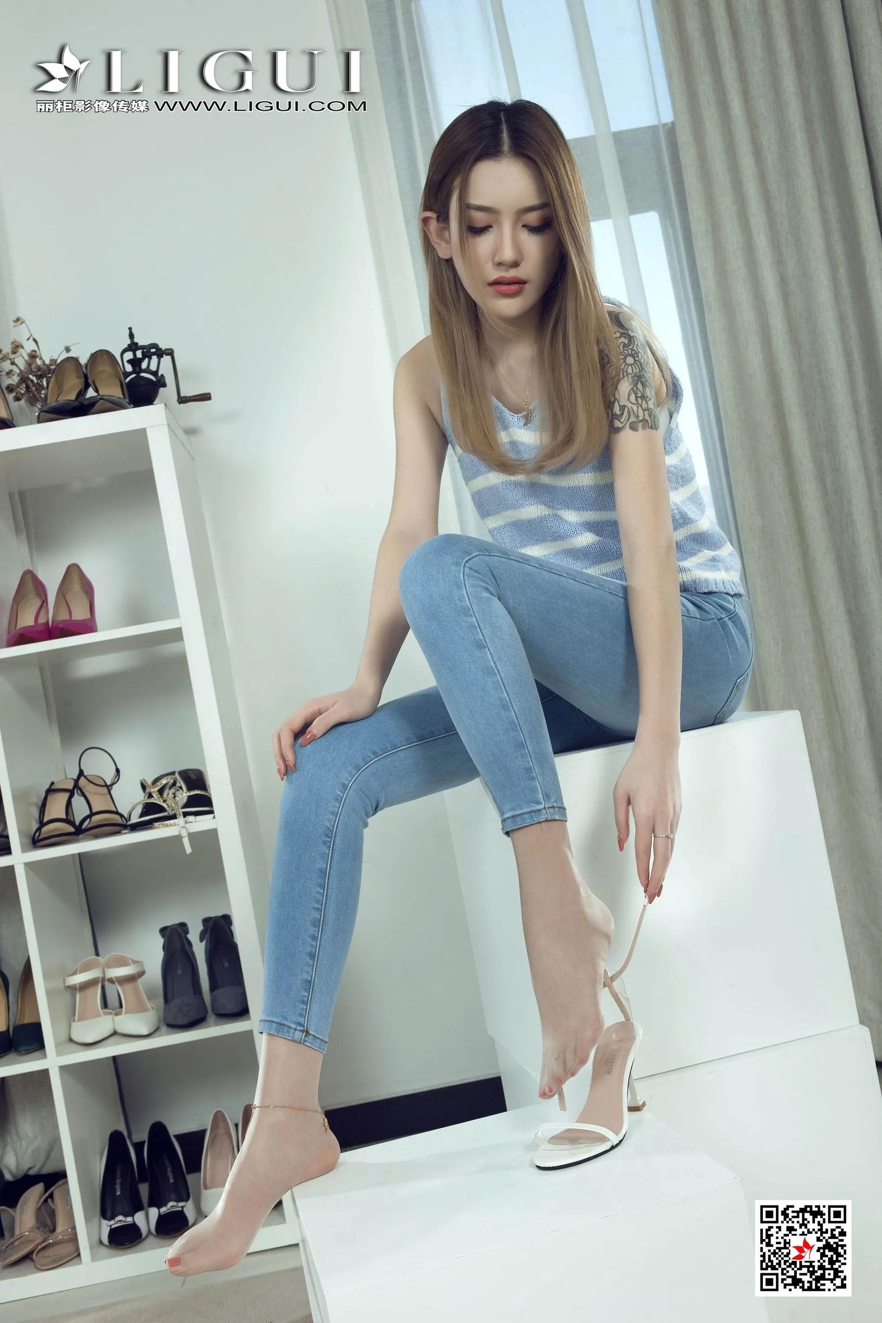 图片[2] - [丽柜Ligui] 网络丽人 Model 甜甜 《长腿牛仔女郎》 写真集[68P] - 唯独你没懂