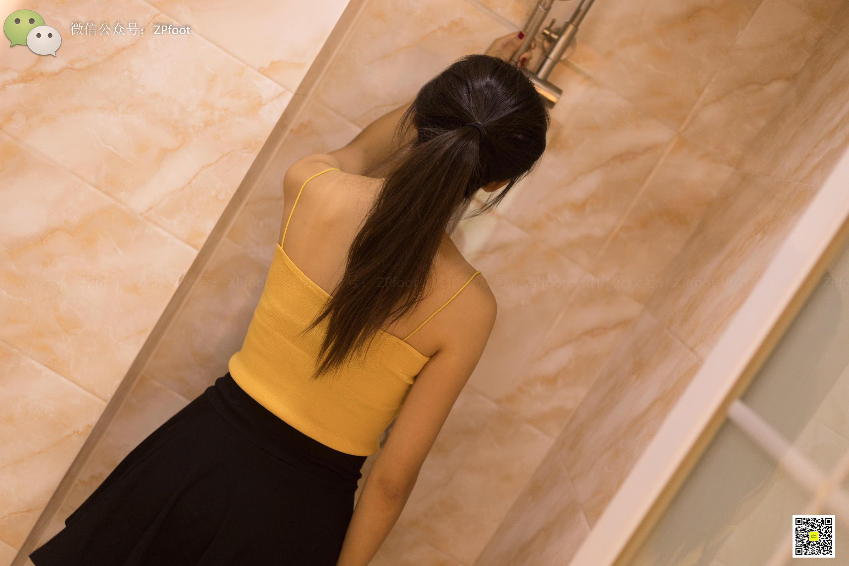 [山茶摄影LSS] NO.033  浴室.丝 写真套图[85P]-小柚妹站