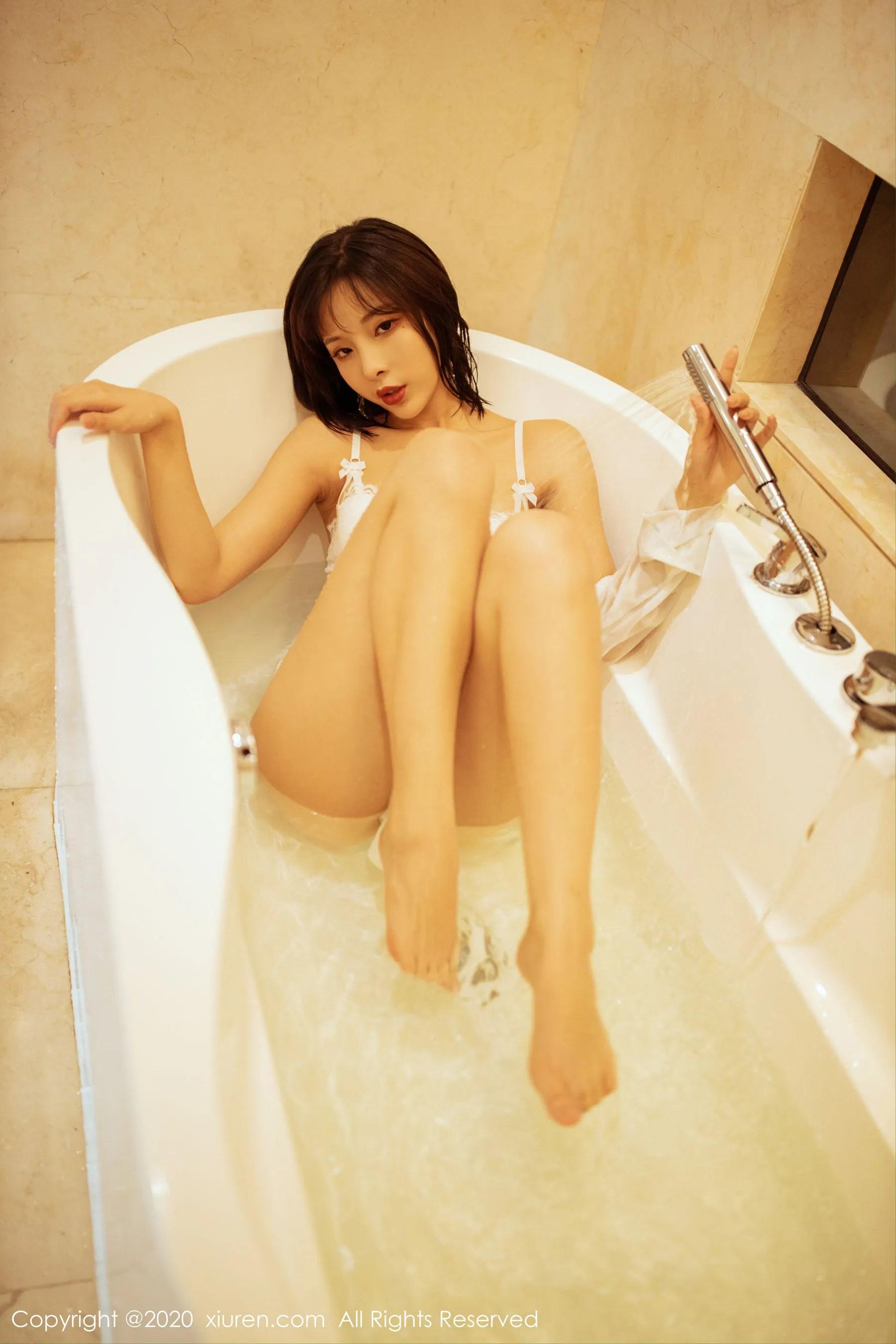 图片[5] - [秀人XiuRen] No.2158 陈小喵 《性感浴室湿身诱惑》 写真集[68P] - 唯独你没懂