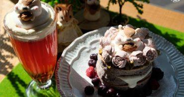 樹林美食︳Niko Niko Cafe -花栗鼠棉花糖限量供應,三峽網美早午餐咖啡店