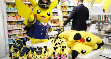 成田機場寶可夢專賣店-成田機場必買Pokemon Store皮卡丘機長(成田空港限定周邊商品)