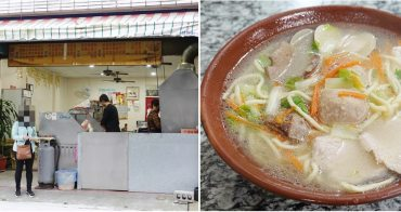 豐田美食 ︳路口小吃:花蓮居民愛吃的麵攤,什錦麵俗又大碗