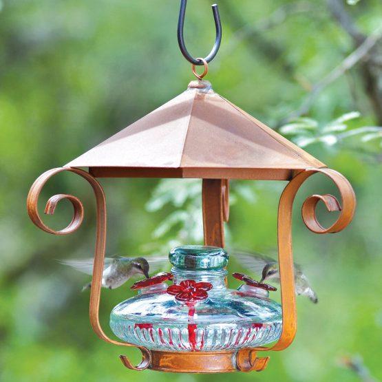 Bloom Hummingbird Feeder With Shelter