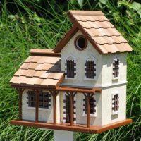 French Garden Cottage Bird House - Yard Envy