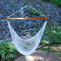 Hanging Hammock Chair Wrought Iron Patio How To Hang A Yard Envy With Stand Ours Jpg