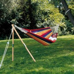 Hanging Chair Stand Only Humanscale Smart How To Hang A Hammock - Yard Envy