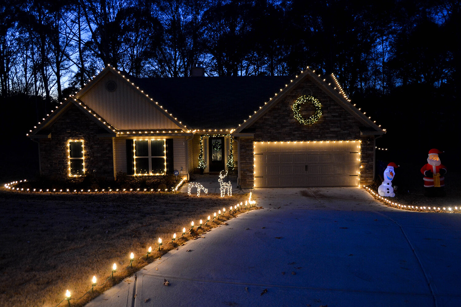 Outdoor Christmas Decorating Ideas Yard Envy