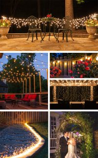Patio Lights - Yard Envy