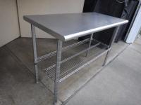 18x30 Stainless Steel Prep Table - For Sale Classifieds
