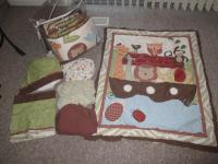 Noahs Ark Crib Bedding - For Sale Classifieds