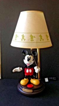 Mickey Mouse Animated Lamp - For Sale Classifieds