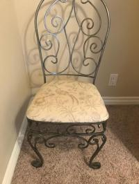 Rod Iron Swivel Chair - For Sale Classifieds