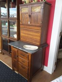 Oak Hoosier Cabinet - For Sale Classifieds