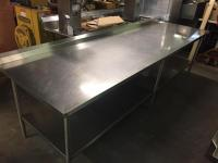 Stainless Steel Work Prep Table - For Sale Classifieds