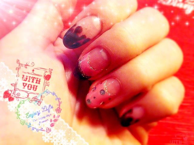 [光療] 粉嫩芭比+甜死人的草莓巧克力