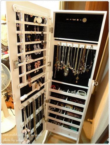 讓人又愛又恨的珠寶鏡櫃
