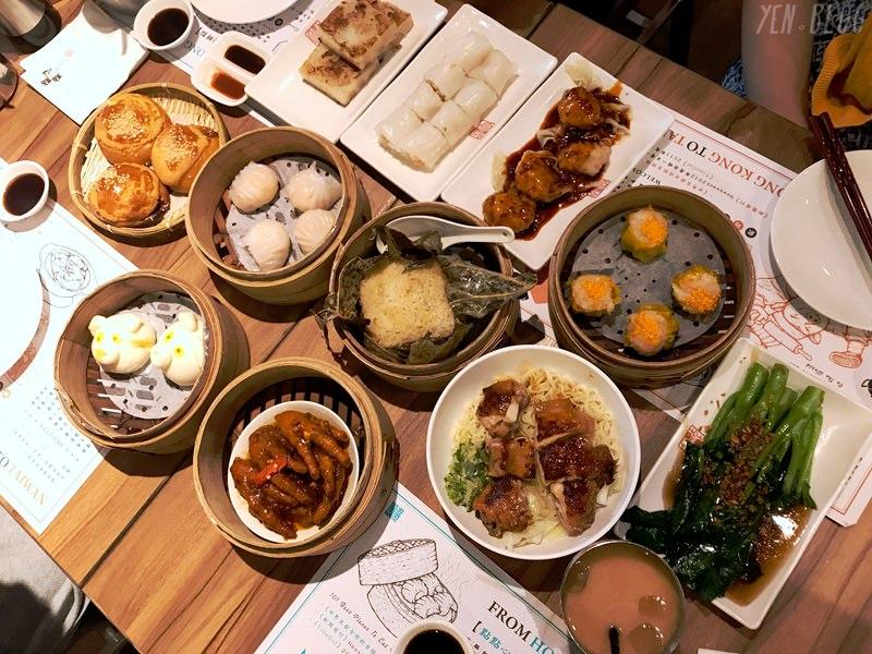 【食記】台北市中正 ‧ 點點心港式茶餐廳(微風台北車站二樓美食廣場)