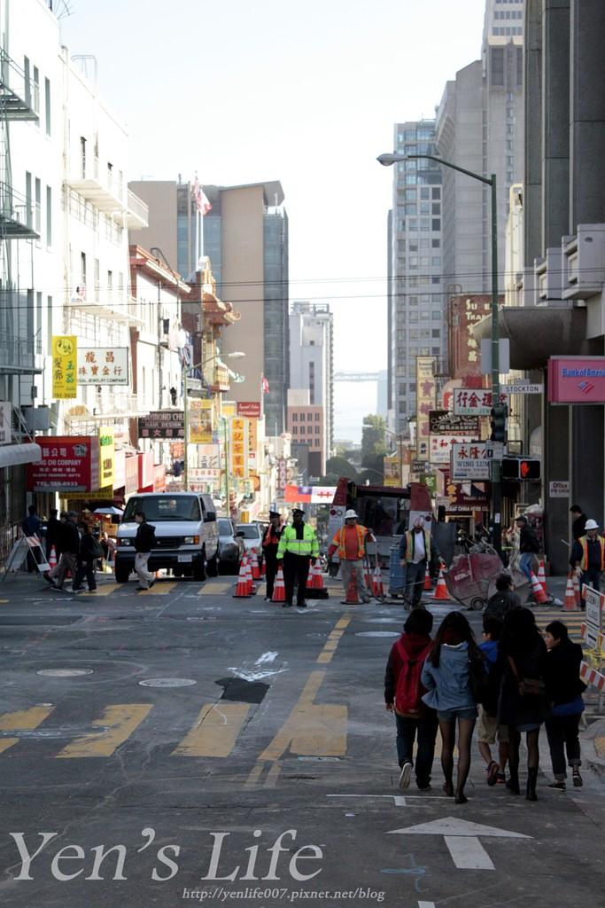 【美國旅遊】美西自由行:舊金山 美西旅遊第三站Day4,中國城/叮噹車博物館/聯合廣場