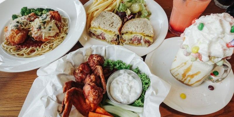 【食記】台北市信義 ‧ 1Bite2Go Café & Deli 紐約風格美式餐廳/朋友聚會/約會餐廳(101、世貿旁)