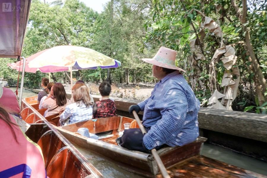 【曼谷旅遊】曼谷熱門景點一日遊:丹能莎朵水上市場、美功鐵道市集、樹中廟、安帕瓦水上市場|曼谷自由行推薦