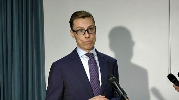 Valtiovarainministeri Alexander Stubb