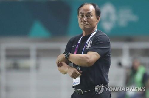 Asian Games) S  Korean football coach says gold medal