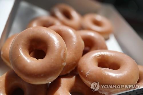 크리스피 크림의 도넛[AFP=연합뉴스]