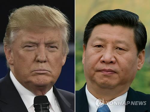트럼프와 시진핑[AFP=연합뉴스]