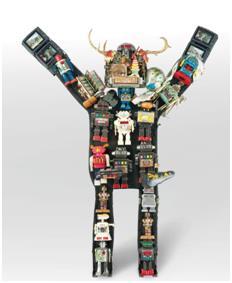 백남준, 로봇, 혼합 재료, 1993~1997