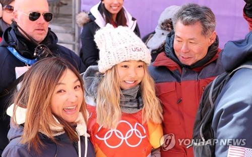 클로이 김과 부모님