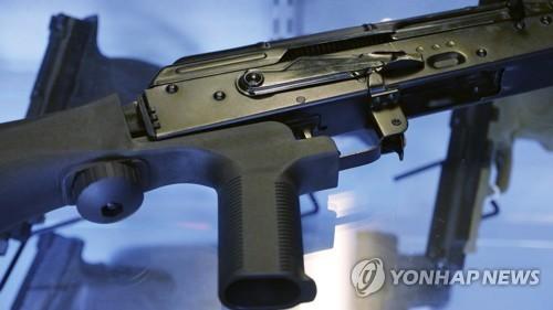 지난해 라스베이거스 총기난사범이 사용한 총기와 '범프스탁'
