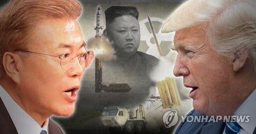 한미 정상회담, 북핵·사드 조율 관건 (PG)