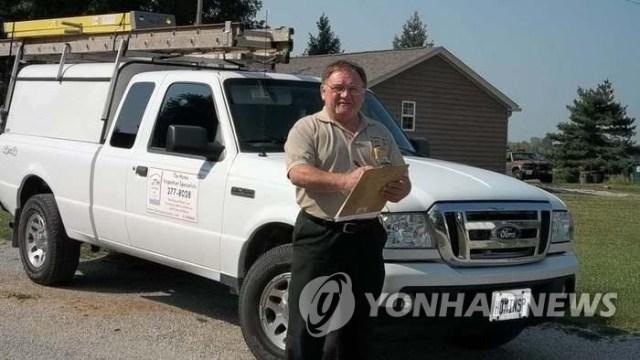 지역정보서비스 '옐프'(Yelp)에 소개된 호지킨슨 프로필 사진