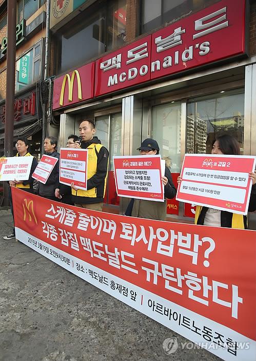 Against McDonald's