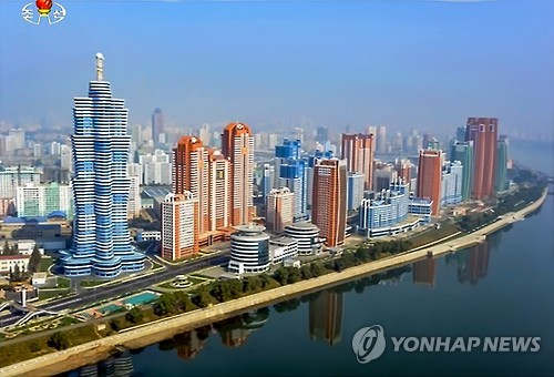 Kim Jong-un tours newly built street in Pyongyang
