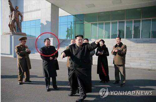 Top N.K. official resumes accompanying Kim Jong-un