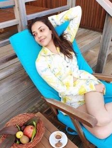 Kajal Aggarwal Hot Pics From Her Maldives Trip13