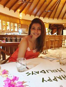 Kajal Aggarwal Hot Pics From Her Maldives Trip24