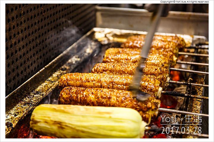 [花蓮東大門夜市] 東麥局燒番麥   花東縱谷當日現摘傳統白玉米, 老店傳承炭火碳烤新鮮好滋味〈試吃邀約〉