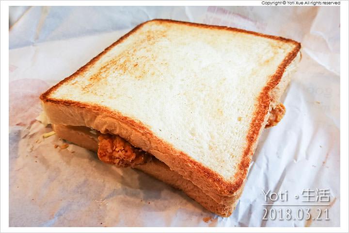[麥當勞] 脆雞腿排烤土司 | 大方烤土司