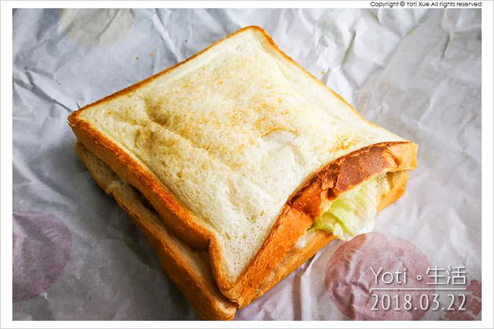 [麥當勞] 黃金豬排烤土司 | 大方烤土司