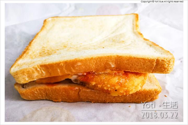 [麥當勞] 金黃薯餅烤土司 | 大方烤土司