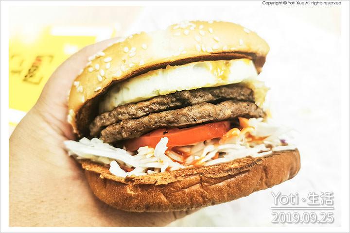 [麥當勞] 醬烤蛋煎雙牛堡 | 韓式水梨BBQ醬 x 特選A級蛋 x 雙層純牛肉