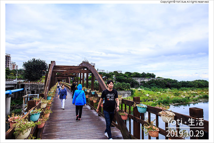 [花蓮市區] 曙光橋 | 迎接太平洋的第一道曙光, 漫步於木橋自行車道上