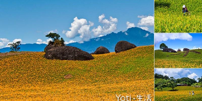 [花蓮玉里赤科山] 三巨石   赤科山最南端的三顆石頭, 赤科三景之一