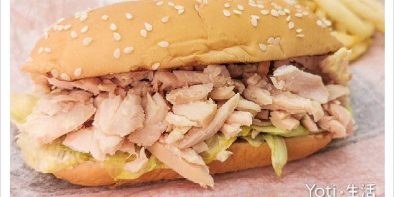 [麥當勞] 煙燻雞肉長堡 | 嫩切雞胸肉、蜂蜜芥末醬、Long Burger