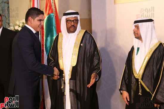 رجل الأعمال أحمد أبو هشيمة يقدم التهنئة لسفارة الأمارات بالقاهرة