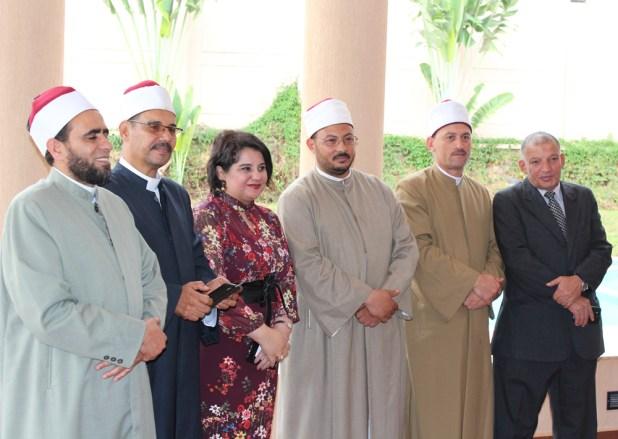جانب من لقاء السفيرة المصرية فى أوغندا مع أبناء الجالية