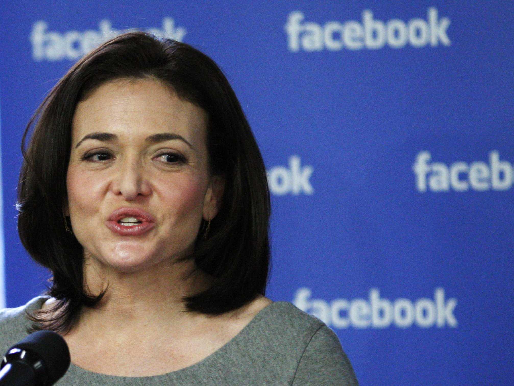شيريل ساندبرج مديرة عمليات فيس بوك
