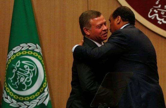 العاهل الاردنى و الرئيس الموريتانى